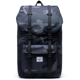 Herschel Little America Selkäreppu, night camo